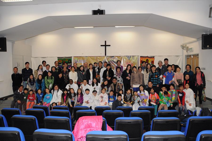 2014年12月14日第三屆聖洗禮